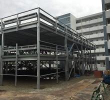 大阪府警察宿舎古江台駐車場